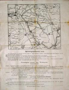 17 juin 1923 - Inauguration de l'ossuaire de la Haute - Chevauchée