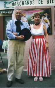 Noël Tosi et Elisabeth (Zakoff)