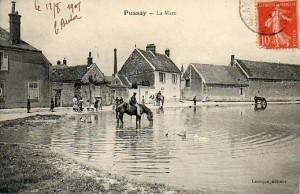 La mare - cachet de la poste 19 août 1909