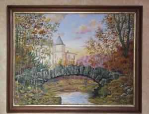 Tosi - Pont de pierre à Méréville