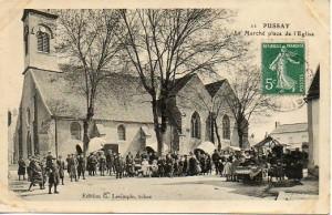 Le marché place de l'église