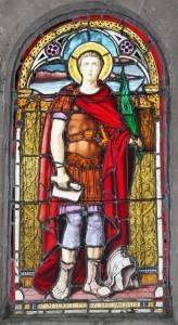vitrail saint Maurice