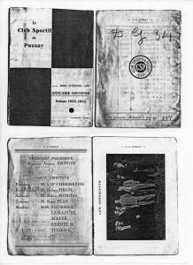 1933 - 1934 annuaire CSP