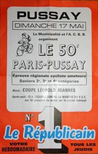 affiche Paris Pussay 50éme