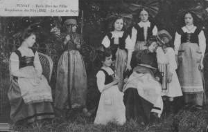 1912 - distribution prix école libre des filles