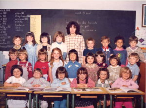 1981 - 1982 - Ecole maternelle