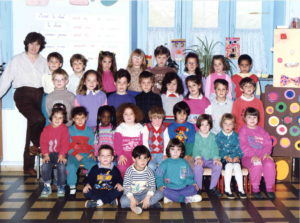 1990 - 1991 - Ecole maternelle