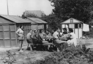 1950 - colonie de vacances à Dinard