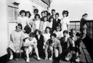 1951 - sortie à la tour Effeil