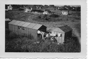1952 - le camp isorel en août à Franceville