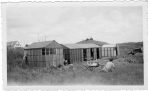 1952 - les débuts au camp isorel en juillet à Franceville