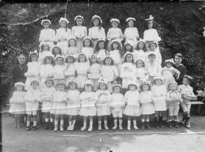 Vers 1921 - cérémonie de la fête Dieu