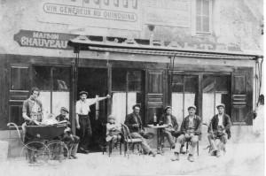 vers 1930 - café Chauveau