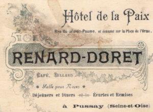 Hôtel de la Paix - Renard Doret