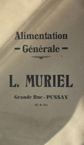 Publicité Muriel verso 1