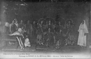 1914 - patronage Pussay - Kermoor ballet des esclaves