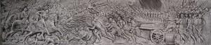 Bas-relief de la bataille de Marignan