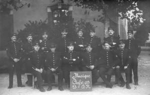 1912 - caserne du 131é Orléans - Gontard Georges
