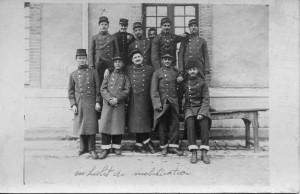 1914 - Orléans Gontard Georges en habit de mobilisation