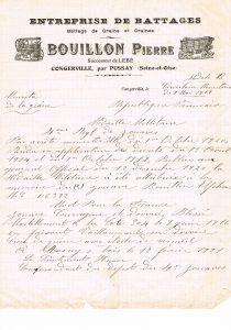 Bouillon Pierre Alphonse - 1919 05 08 décès _citation
