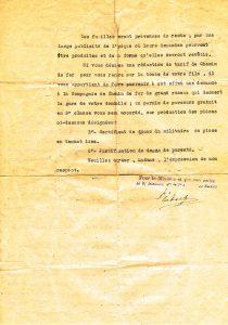 Bouillon Pierre Alphonse - 1920 09 15 V demande exhumation Froidos