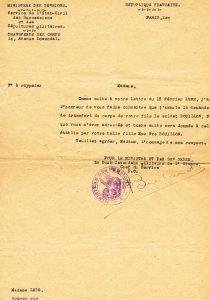 Bouillon Pierre Alphonse - 1922 02 16 transfert du corps