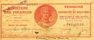 Carnet Pension Lebé Couverture
