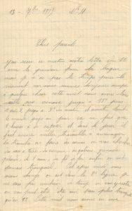 lettre 13 sept 1915 recto